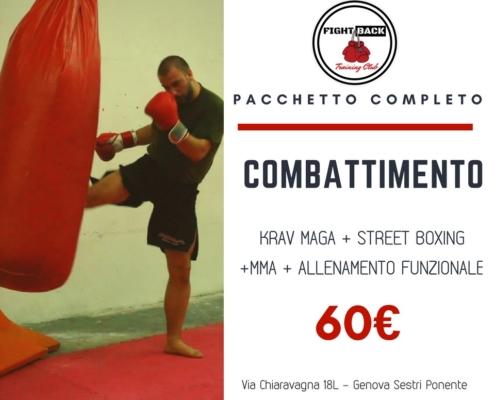 combattimento genova sestri ponente- - fight back