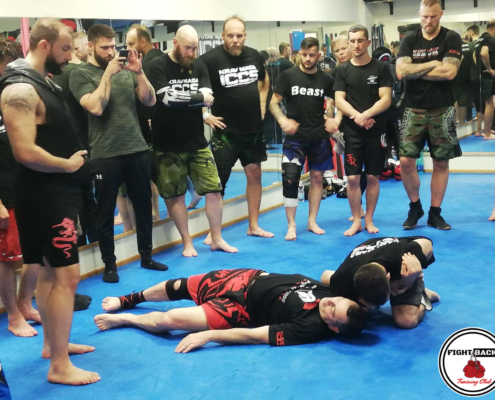 Convention Mondiale Krav Maga ICCS Genova alla Fight Back